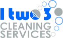 1two3 Cleaning Services Logo